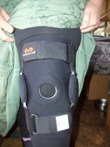 My new knee brace.